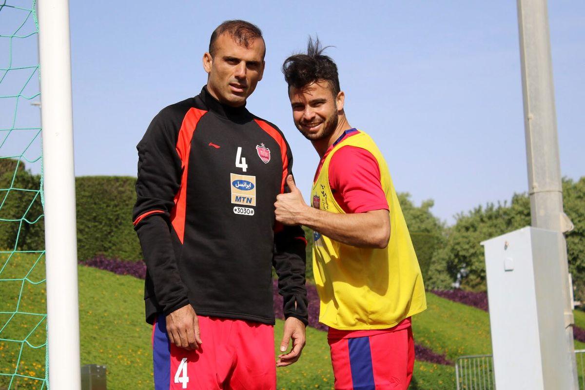 سیدجلال حسینی در باشگاه پرسپولیس حضور یافت