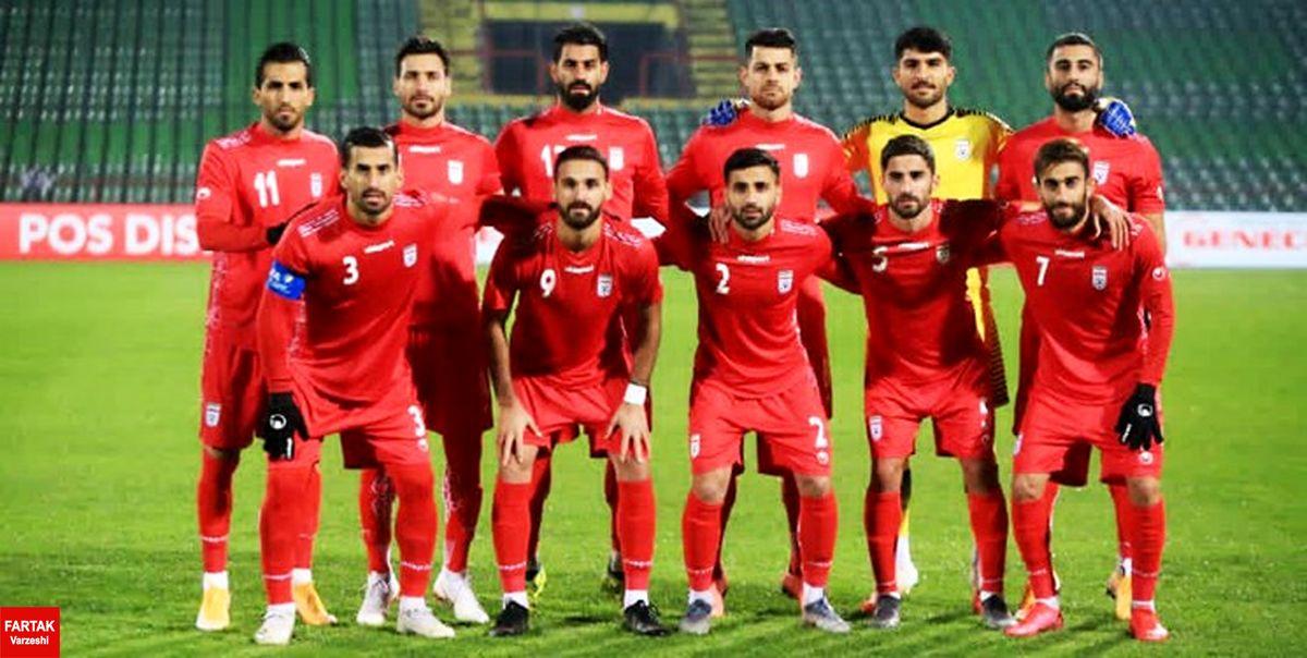 جدیدترین ردهبندی تیمهای ملی فوتبال اعلام شد/ رتبه ایران تغییر نکرد