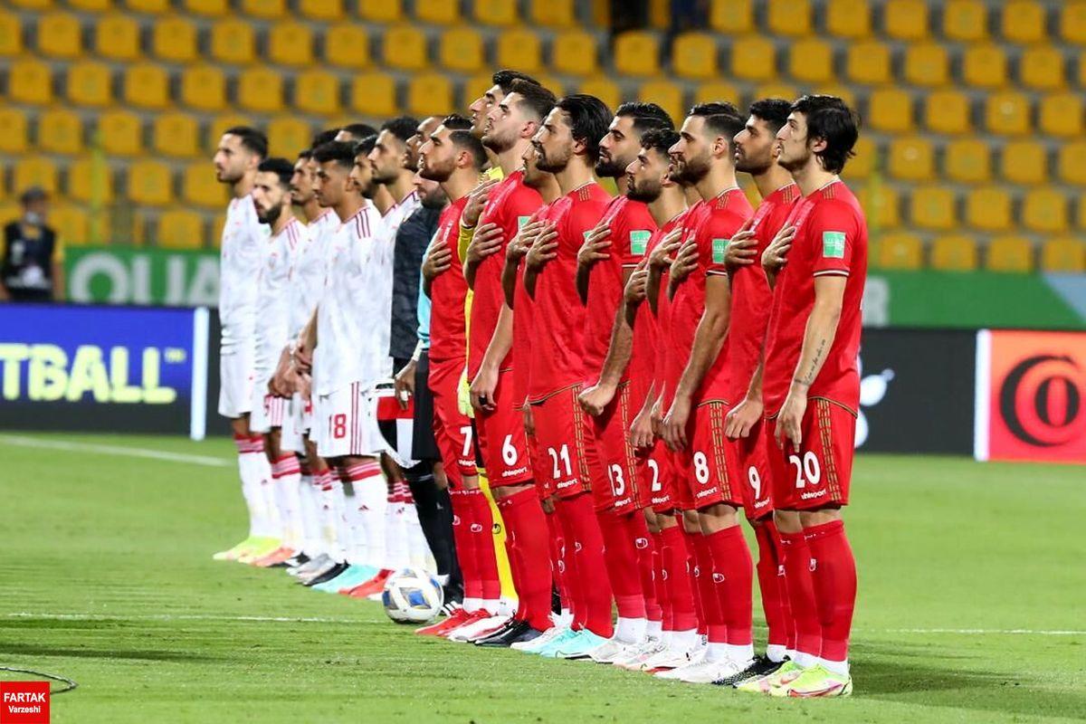 ترکیب تیم ملی فوتبال ایران مشخص شد