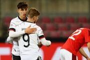 لیگ ملتهای اروپا|توقف آلمان مقابل سوئیس/شکست غیرمنتظره اسپانیا مقابل اوکراین