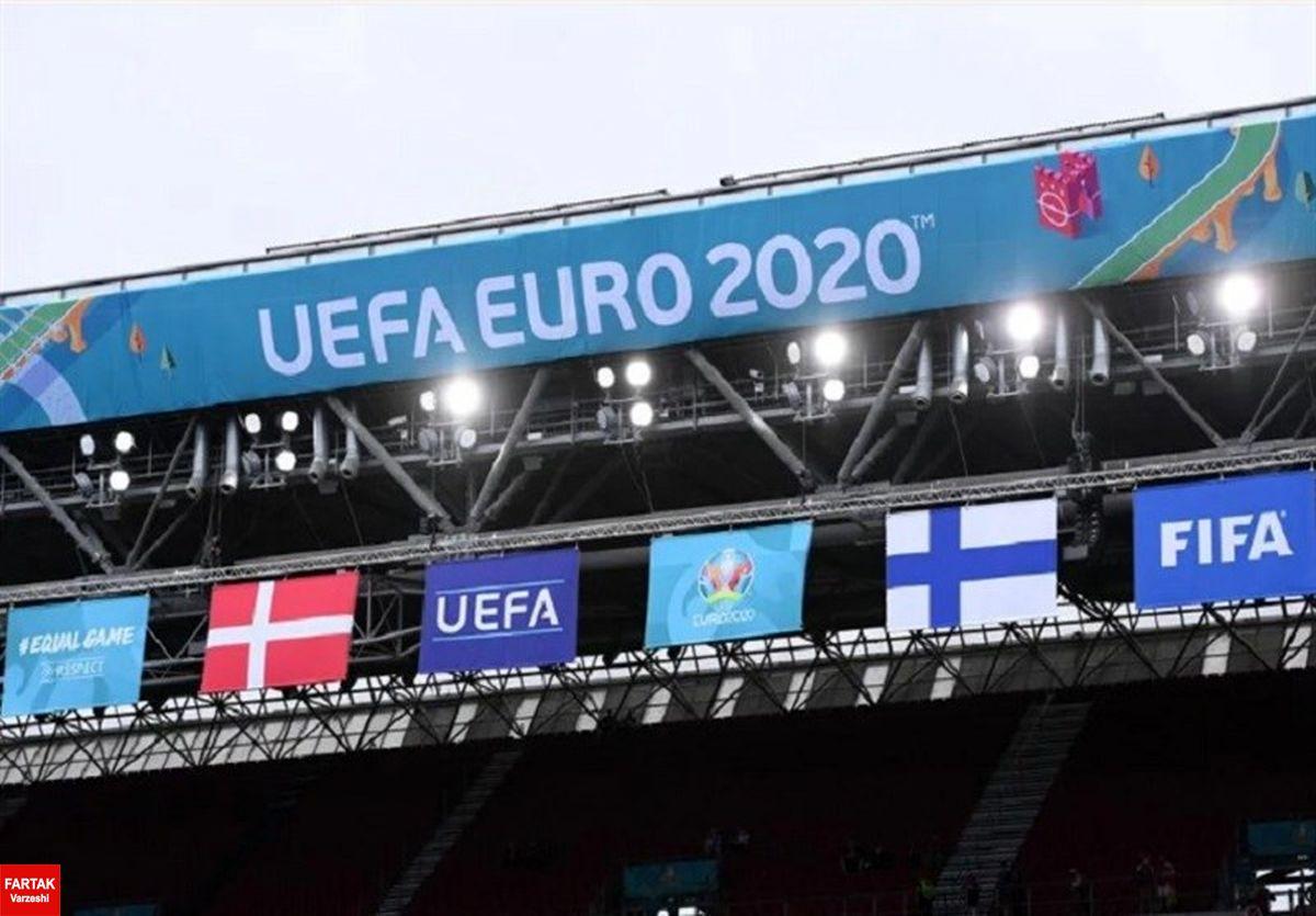 یورو ۲۰۲۰| اعلام ترکیب تیمهای ملی دانمارک و فنلاند